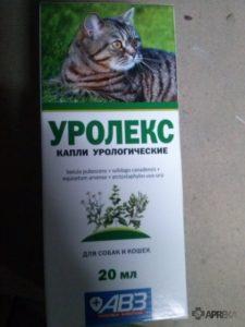 применять Уролекс для кошек