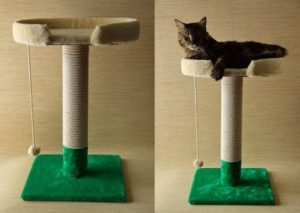 Как сделать когтеточку для кошек своими руками